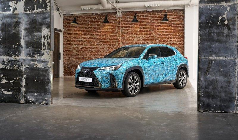 Lexus Gyorin Kozane gana el UX Art Car