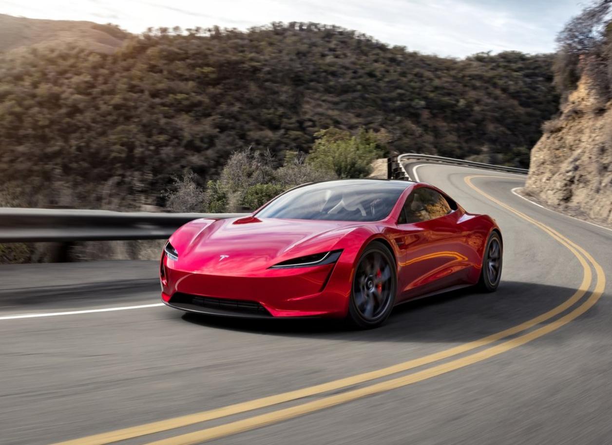 El Tesla Roadster llevará los propulsores de manera discreta
