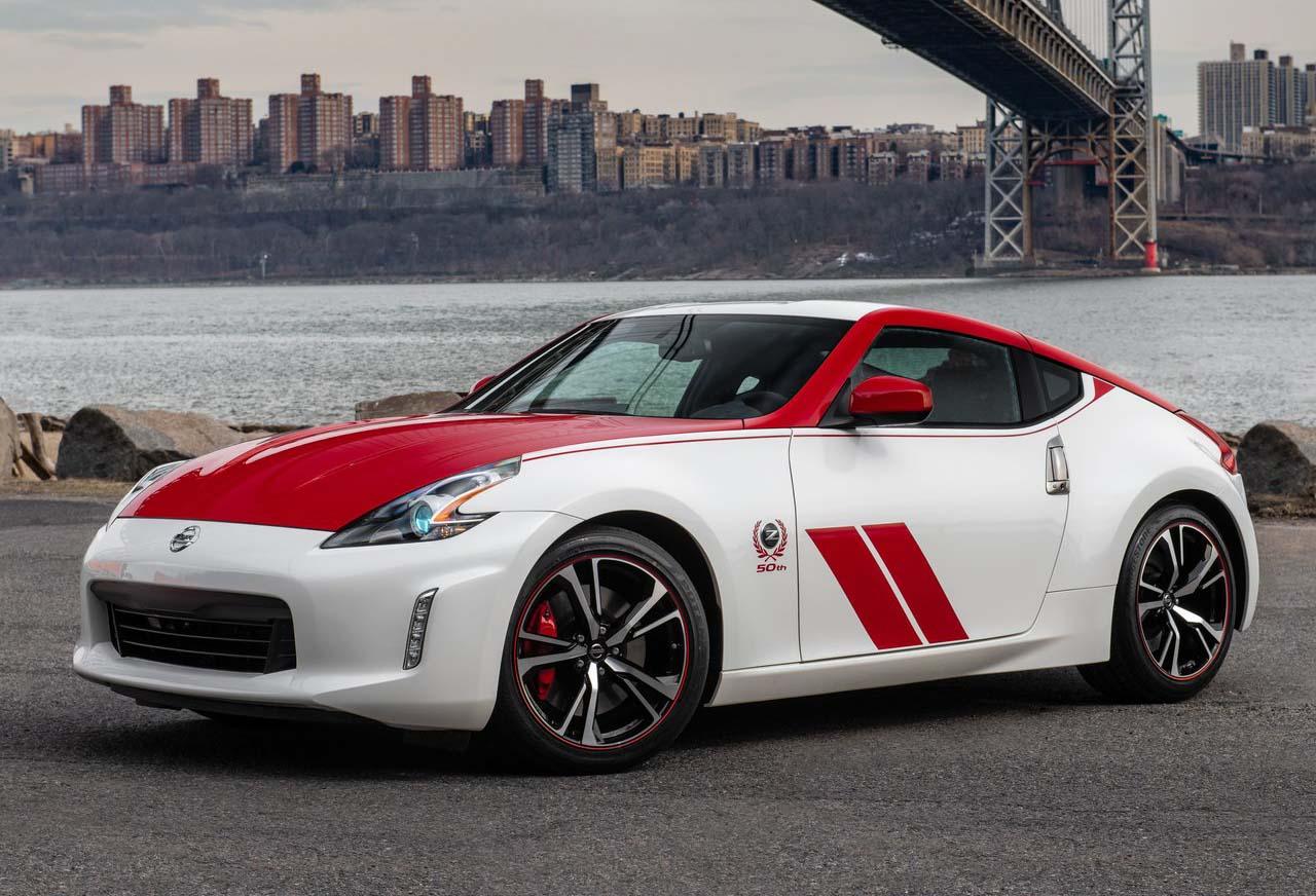 El Nissan 370Z 50 Aniversario imita la apariencia del vehículo de carreras BRE original