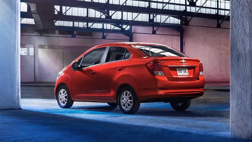 Autos recomendados para taxi en mexico Chevrolet Beat Notchback