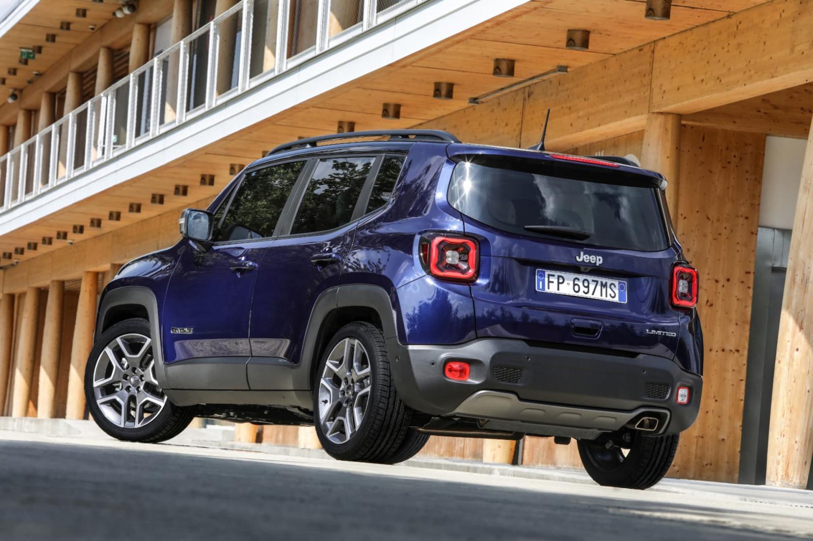 Jeep Renegade Limited 2019 resena ventajas desventajas