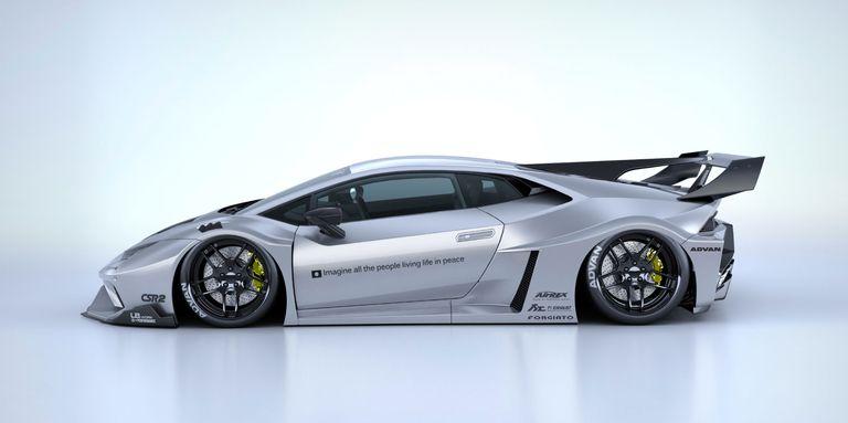 Lamborghini Huracán Silhouette Works GT by Liberty Walk, tuning de alto impacto