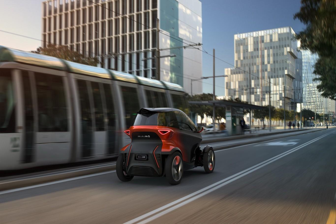El SEAT Minimó es un vehículo que se ajusta de manera adecuada a los espacios urbanos