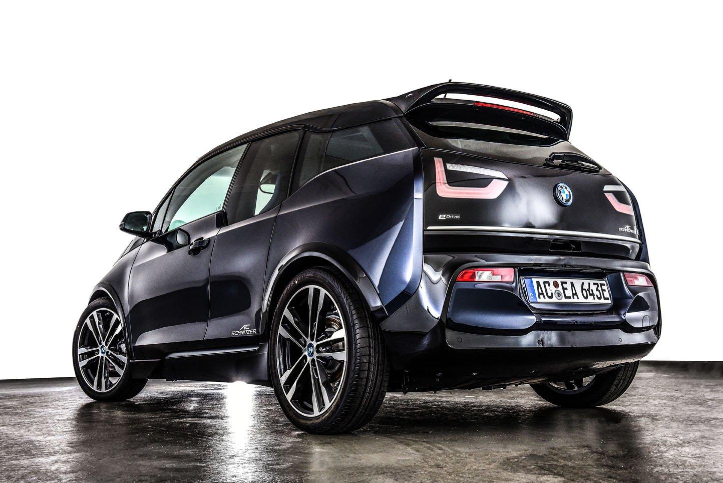 AC Schnitzer presenta un nuevo kit aerodinámico para el BMW i3s
