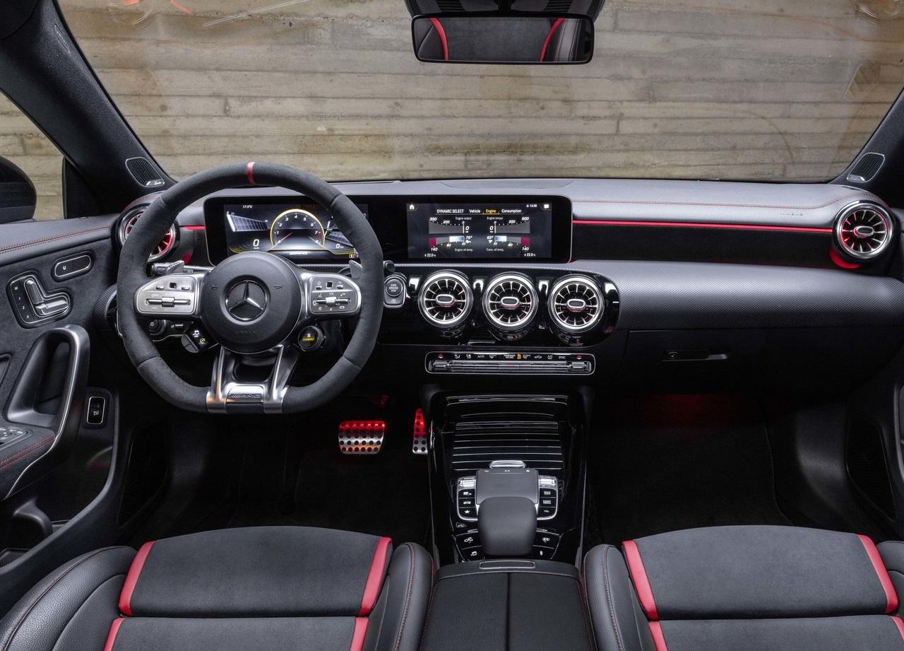 Mercedes-AMG CLA 45 4Matic Shooting Brakte