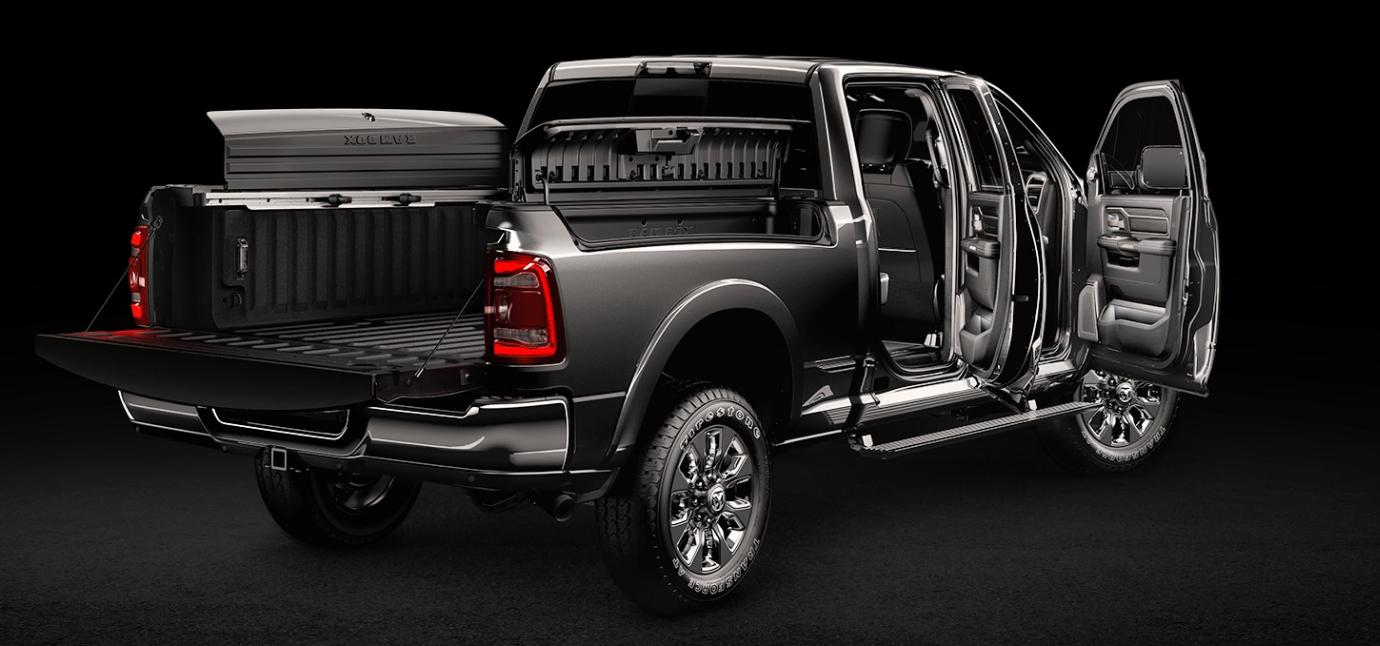La Ram 2500 HD Limited 2019 es una camioneta competente para el trabajo, pero también para la aventura off-road