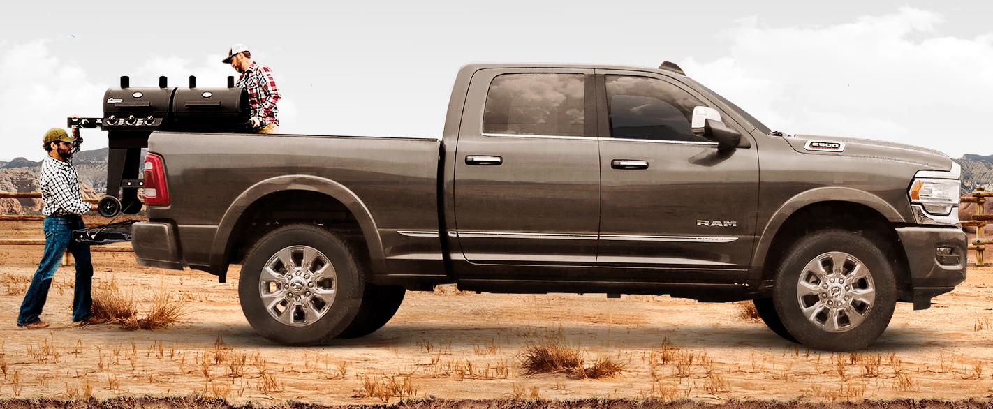 La Ram 2500 HD Limited 2019 es una pick-up que marcha sobrada en la mayoría de los escenarios
