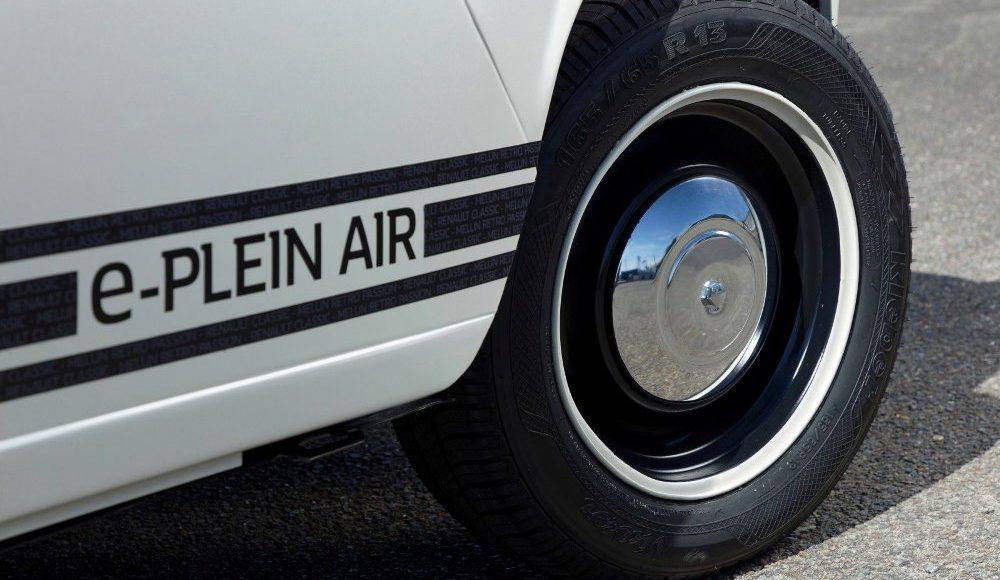 El Renault e-Plein Air es resultado de la colaboración entre Renault Classic y Renault Design