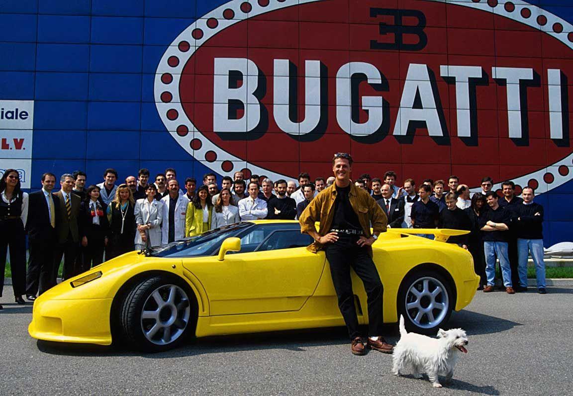 Bugatti EB110SS