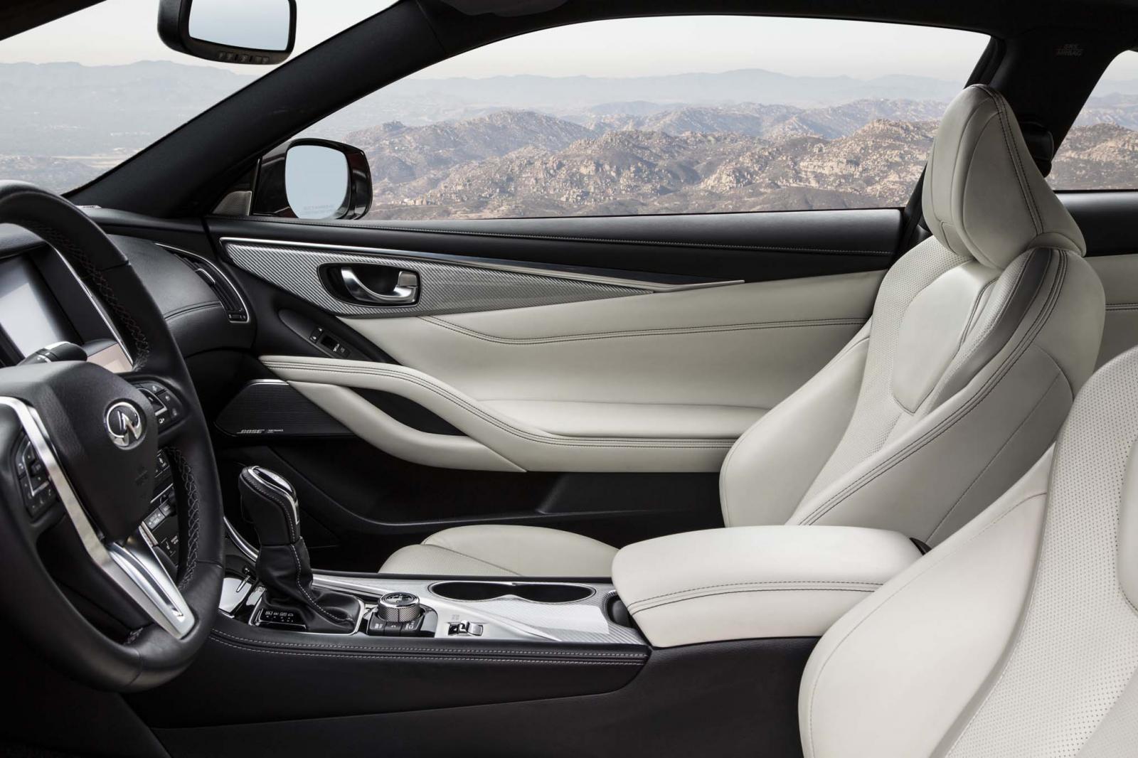 Infiniti Q60 Coupé 400 Sport Limited Edition interior
