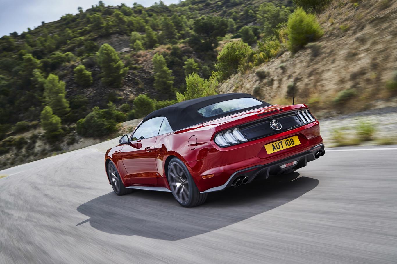 Ford Mustang55, una edición especial solo para Europa