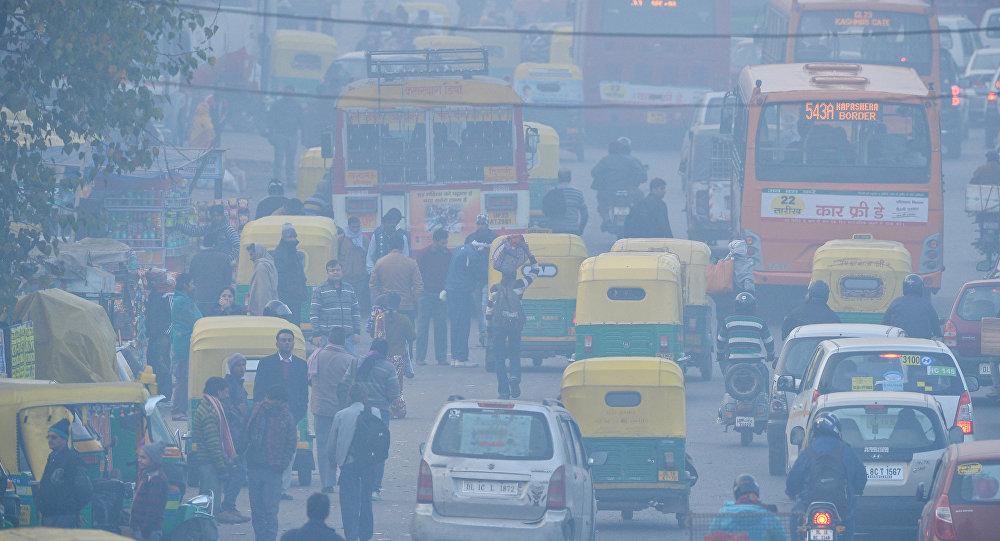 Los altos niveles de contaminación en India son una amenaza contra la salud y han ocasionado muertes en varias ciudades