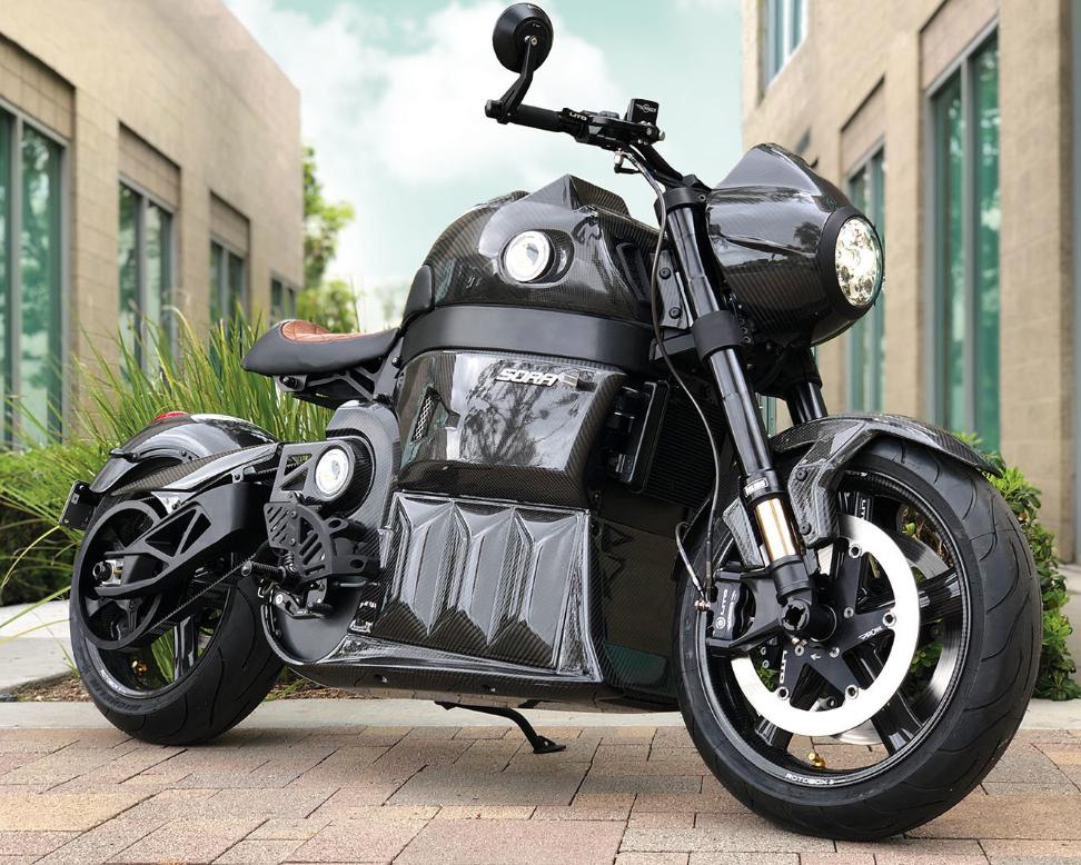 La Lito Sora Generation 2 no es una motocicleta accesible para todo el público, solo 20 tendrán el privilegio de tenerla en su cochera