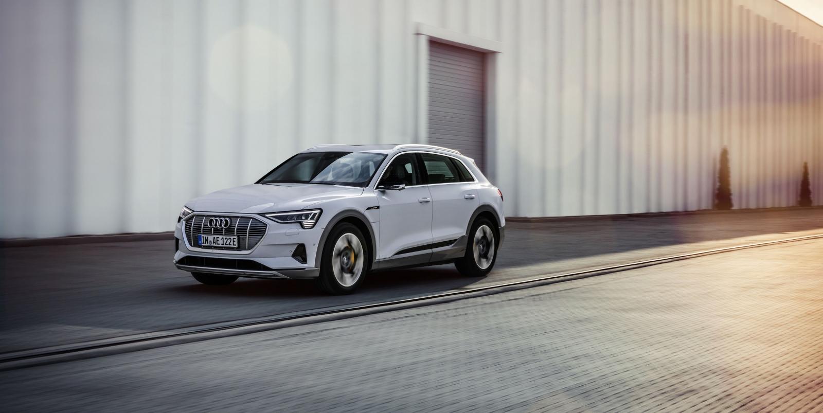 Audi e-Tron 50 quattro, la versión más asequible de la SUV eléctrica