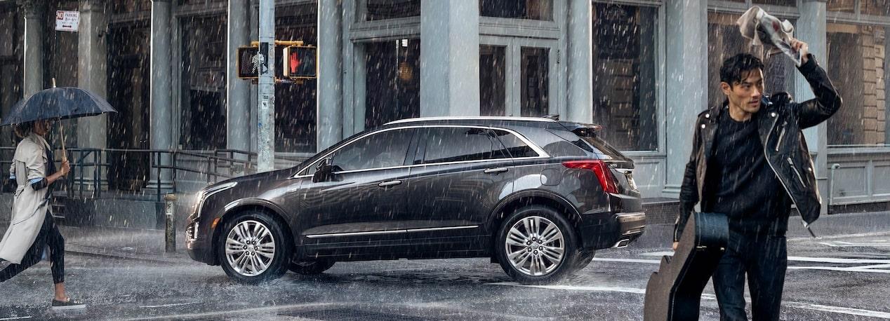 La Cadillac XT5 Platinum 2019 posee un look muy sofisticado y un perfil de trazos fluidos
