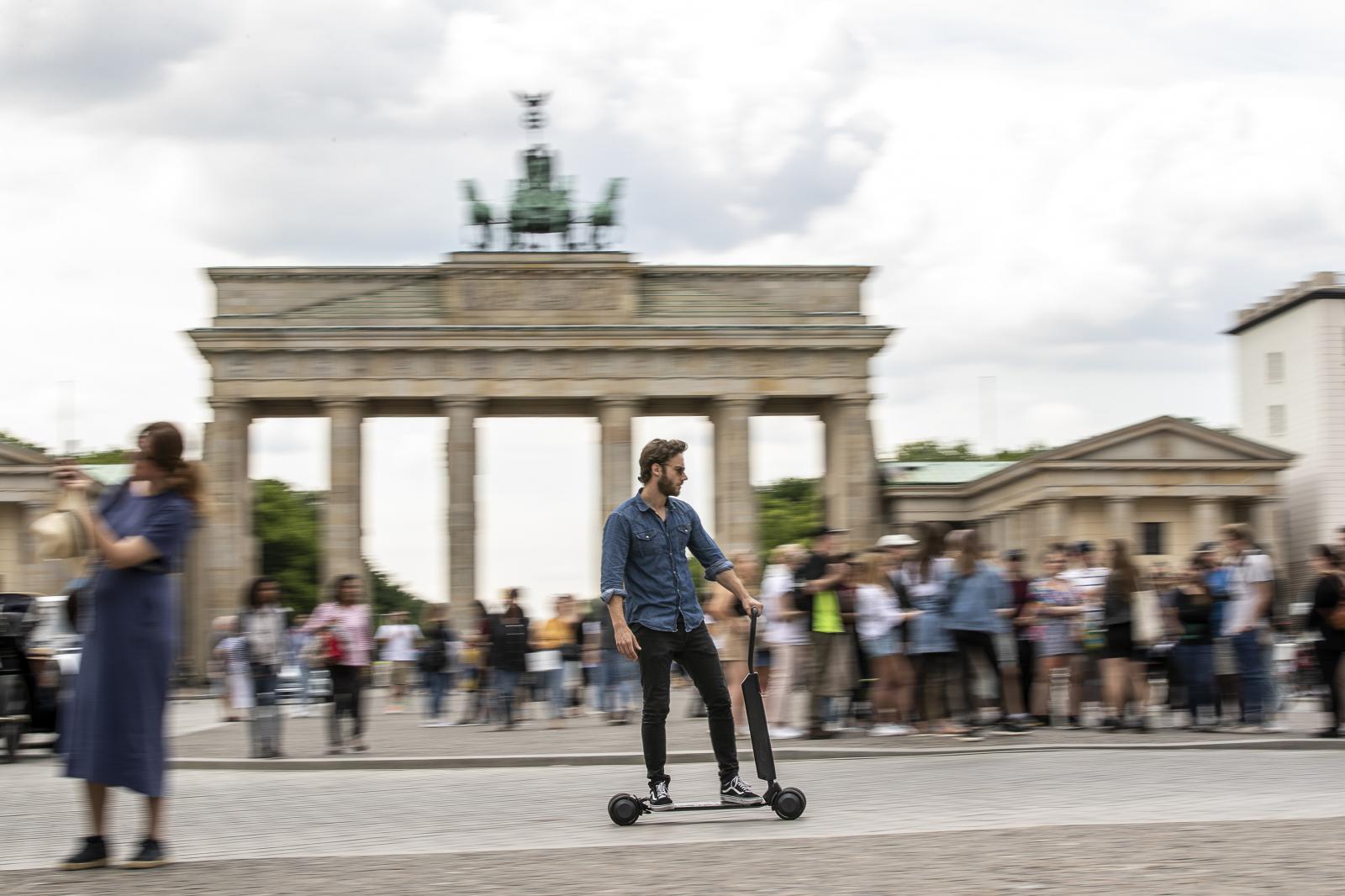 Audi e-Tron Scooter eléctrico