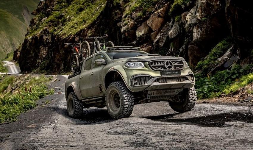 La Mercedes-Benz Clase X de Carles Design tiene una apariencia mucho más salvaje y radical