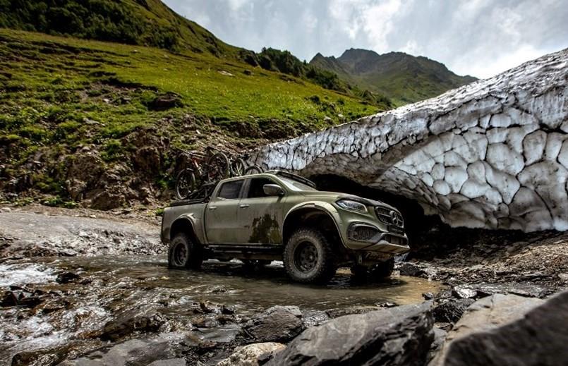 El diseño de la Mercedes-Benz Clase X llegó a darle el look que los usuarios esperaban del modelo de producción original