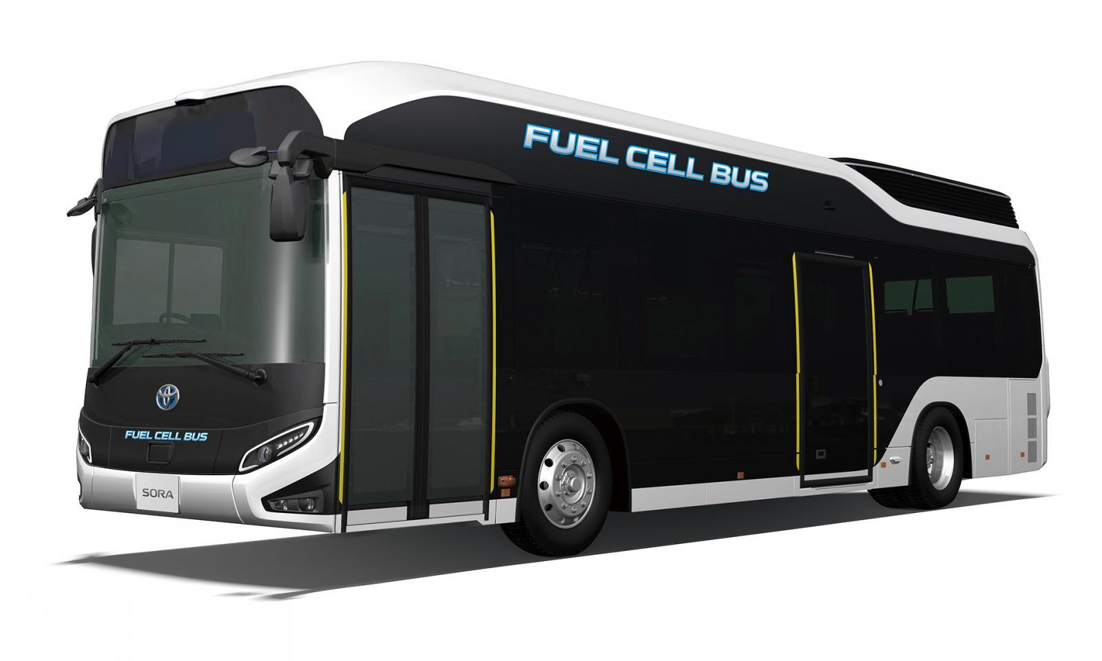 Toyota Sora, los autobuses del futuro