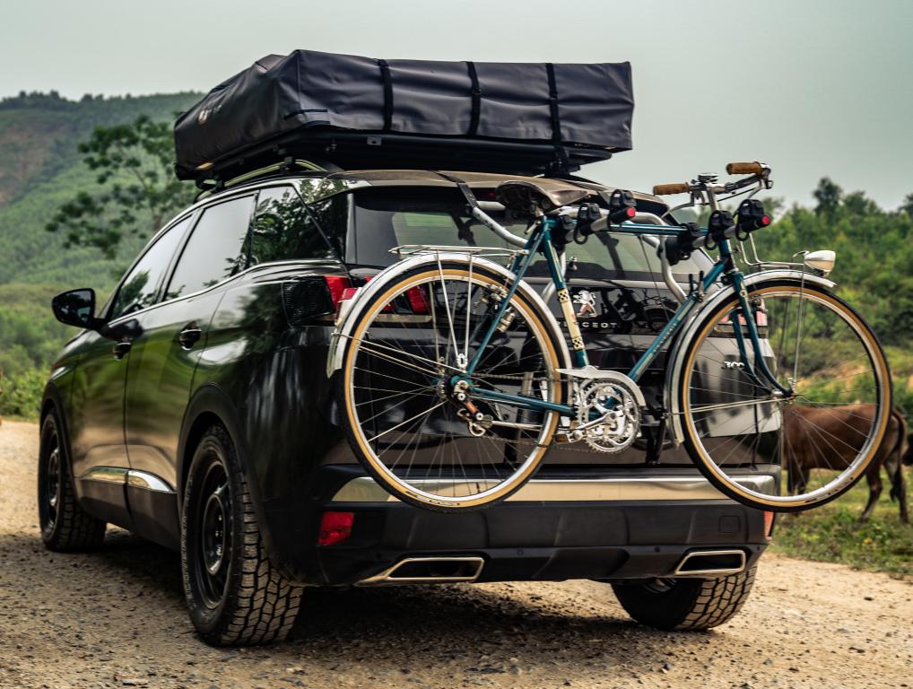 La Peugeot 3008 Concept impresiona por sus componentes enfocados claramente para la aventura fuera de ruta