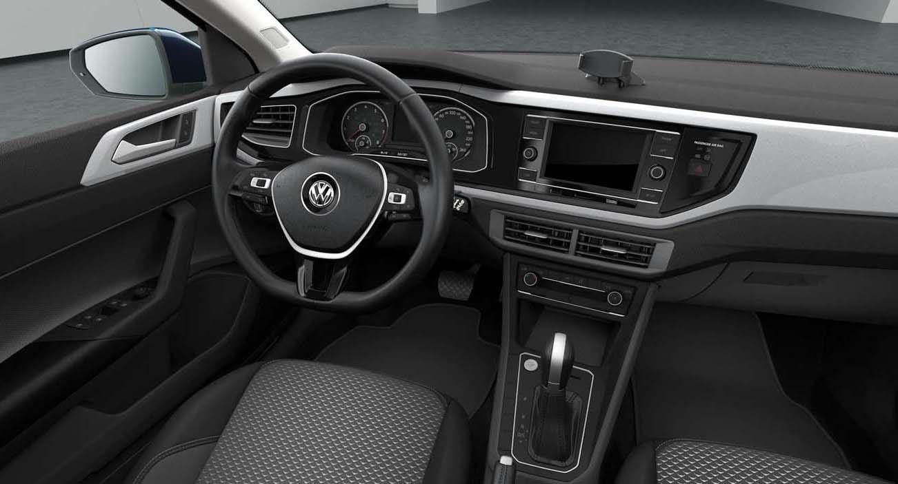 El Volkswagen Virtus Comfortline 2020 tiene una pantalla de 6.5 pulgadas
