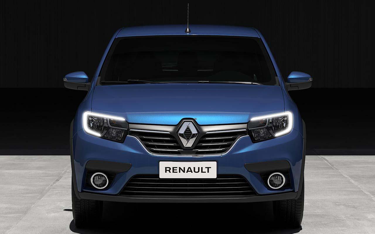 El Renault Sandero R.S. tiene luces diurnas en forma de C