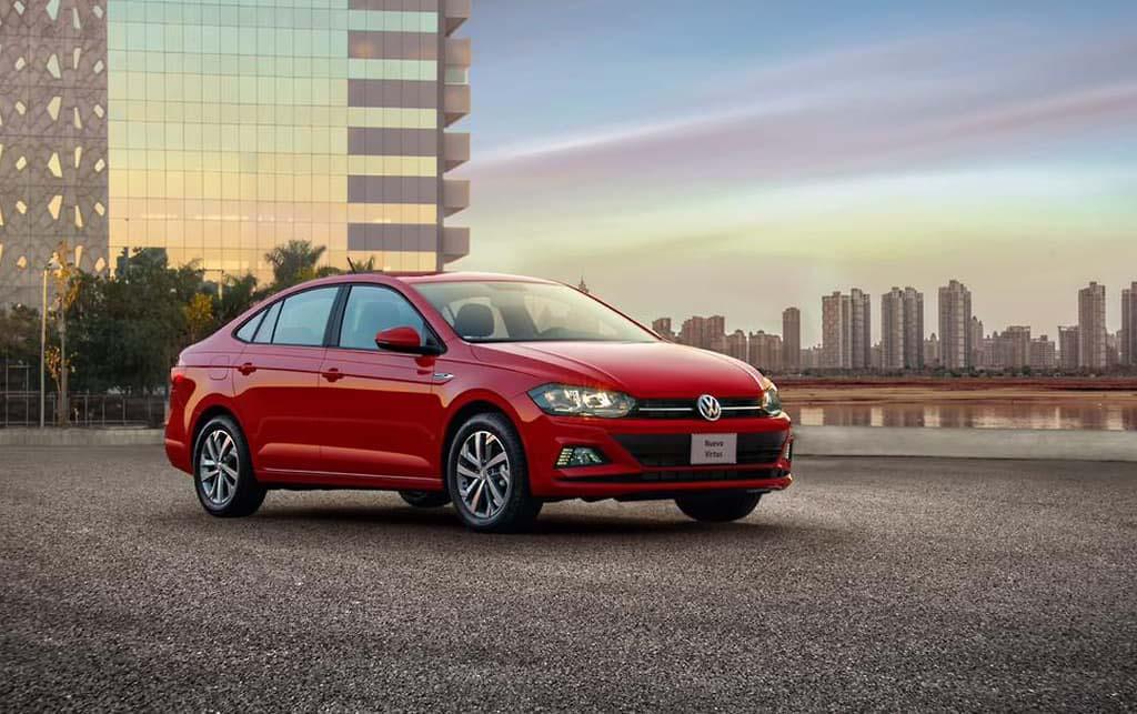 El Volkswagen Virtus Comfortline 2020 tiene un buen sistema de infotenimiento
