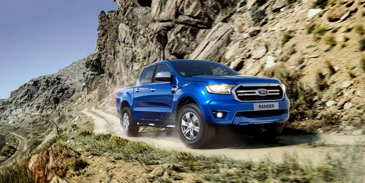Ford Ranger 2020 azul