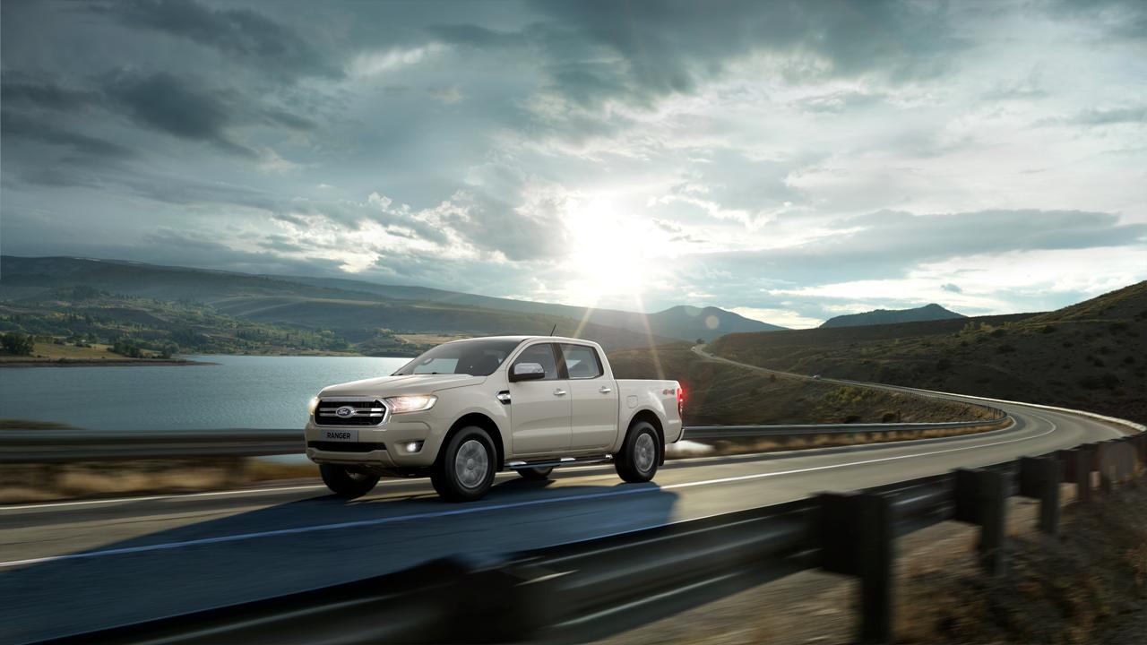 Ford Ranger blanca 2020
