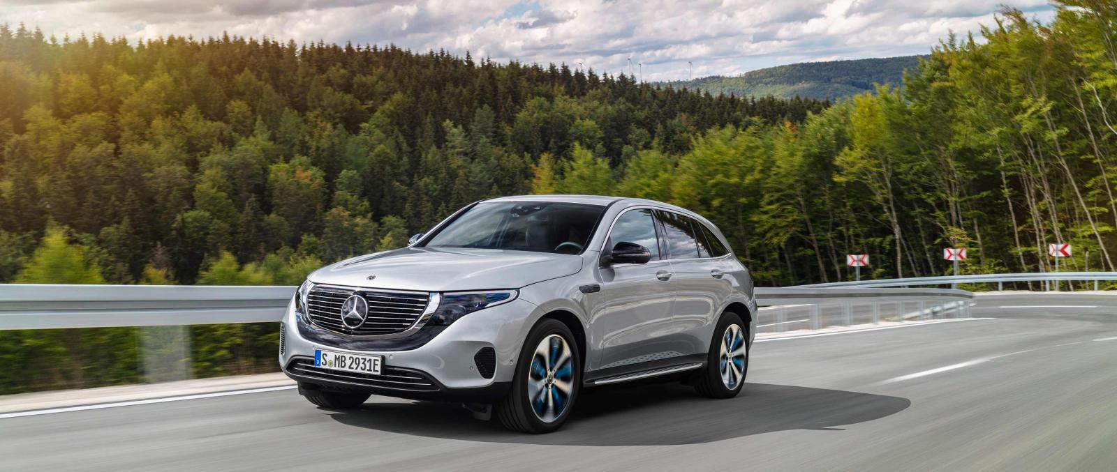 El Mercedes EQS podría llevar el mismo motor de propulsión eléctrica que la Mercedes EQC
