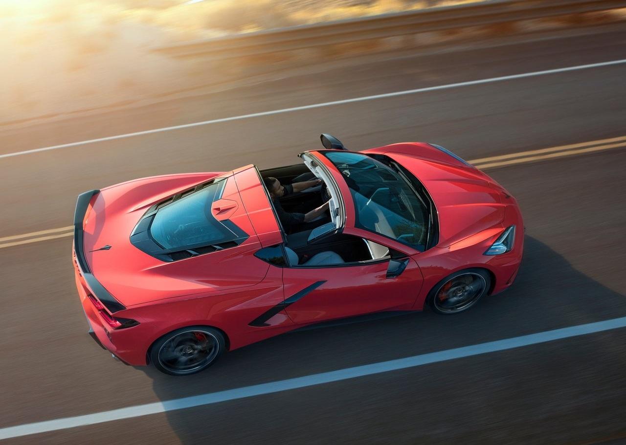 Chevrolet consideró incluir el medallón dividido en el nuevo Corvette 2020