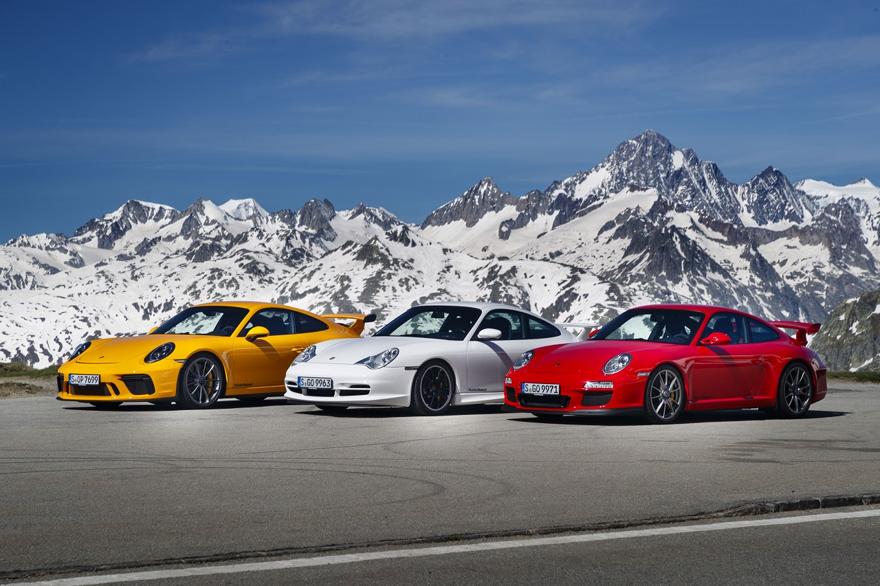 El Porsche 911 GT3 cumple dos décadas de vida
