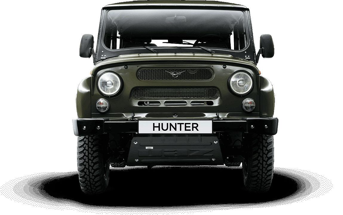 La UAZ Hunter es de los modelos emblemáticos de la marca
