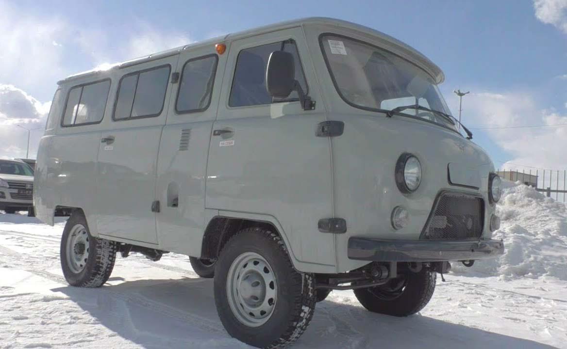 La UAZ-452 Bukhara se empezó a fabricar en 1965