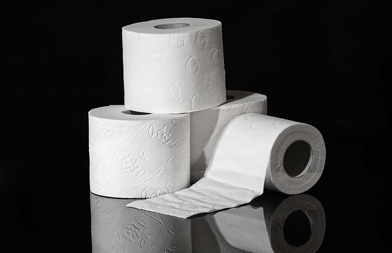 Rollo de papel higiénico es un artículo de mucha ayuda