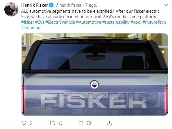 Fisker Twitter