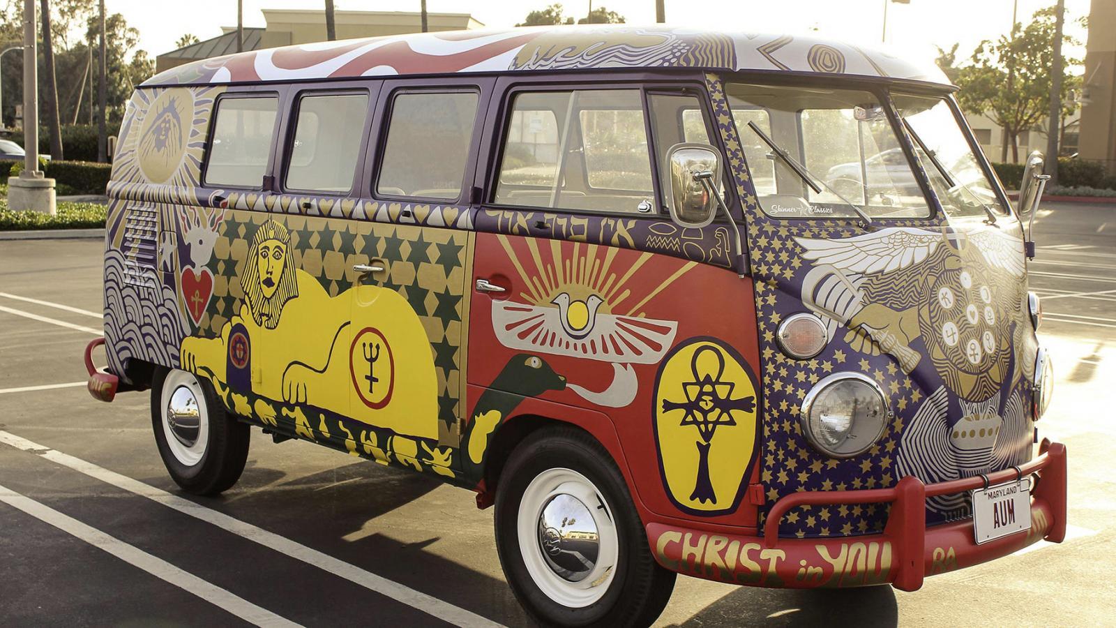 Reaparece la legendaria VW 'Light Bus' de Woodstock