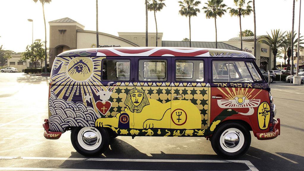 Reaparece la legendaria Volkswagen 'Light Bus' de Woodstock
