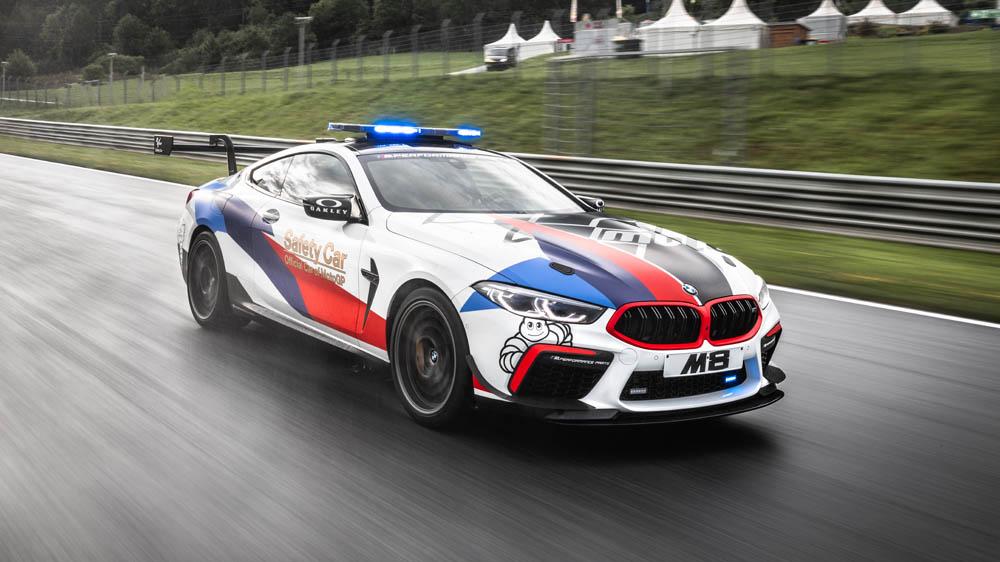 El BMW M8 MotoGP Safety Car se convirtió en el coche para atender incidentes en el MotoGP