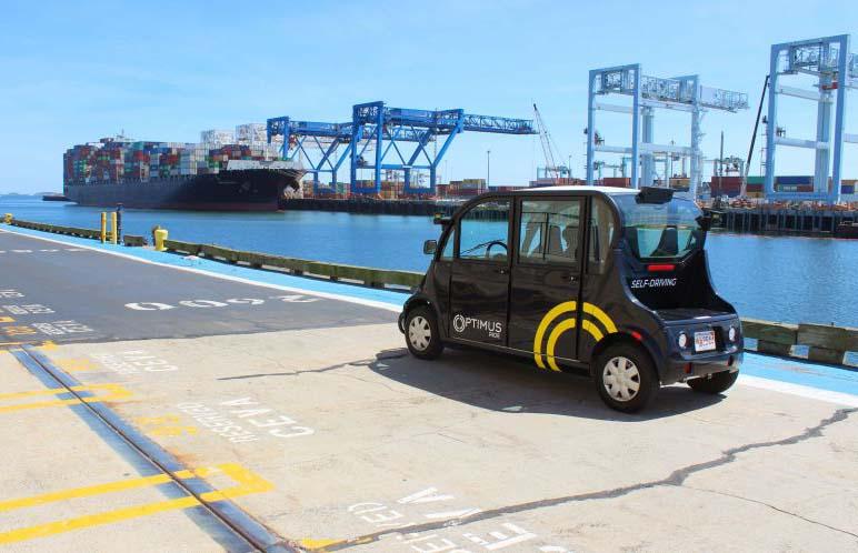 Los autónomos de Optimus Ride transportar a 500 personas al día