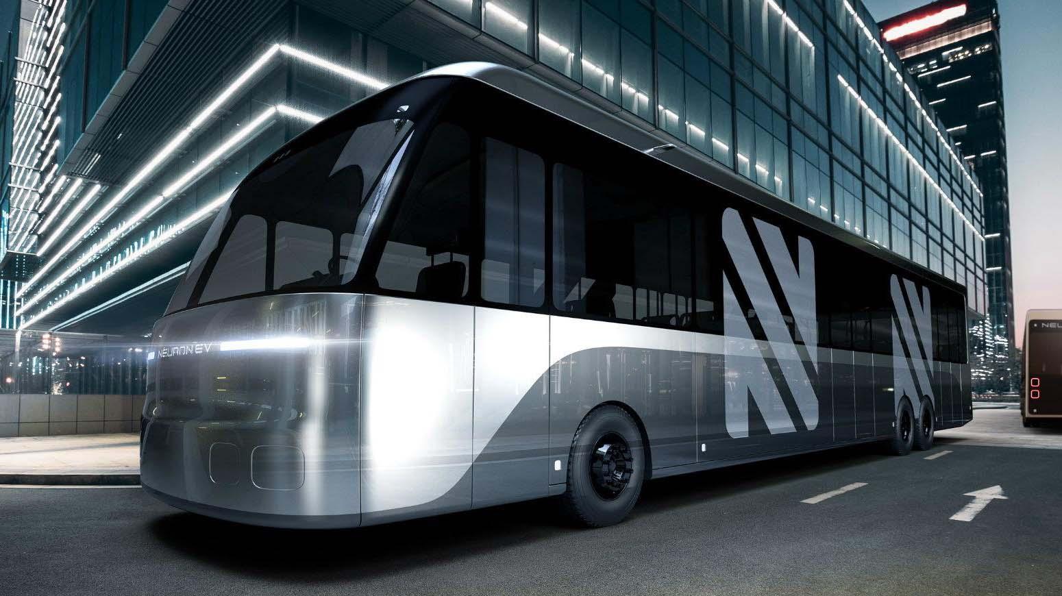 El Neuron Electric Bus es un autobús eléctrico con una versatilidad sorprendente