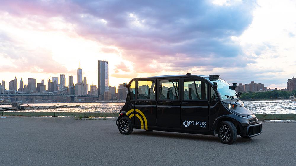 Estos vehículos autónomos ya operan en Nueva York