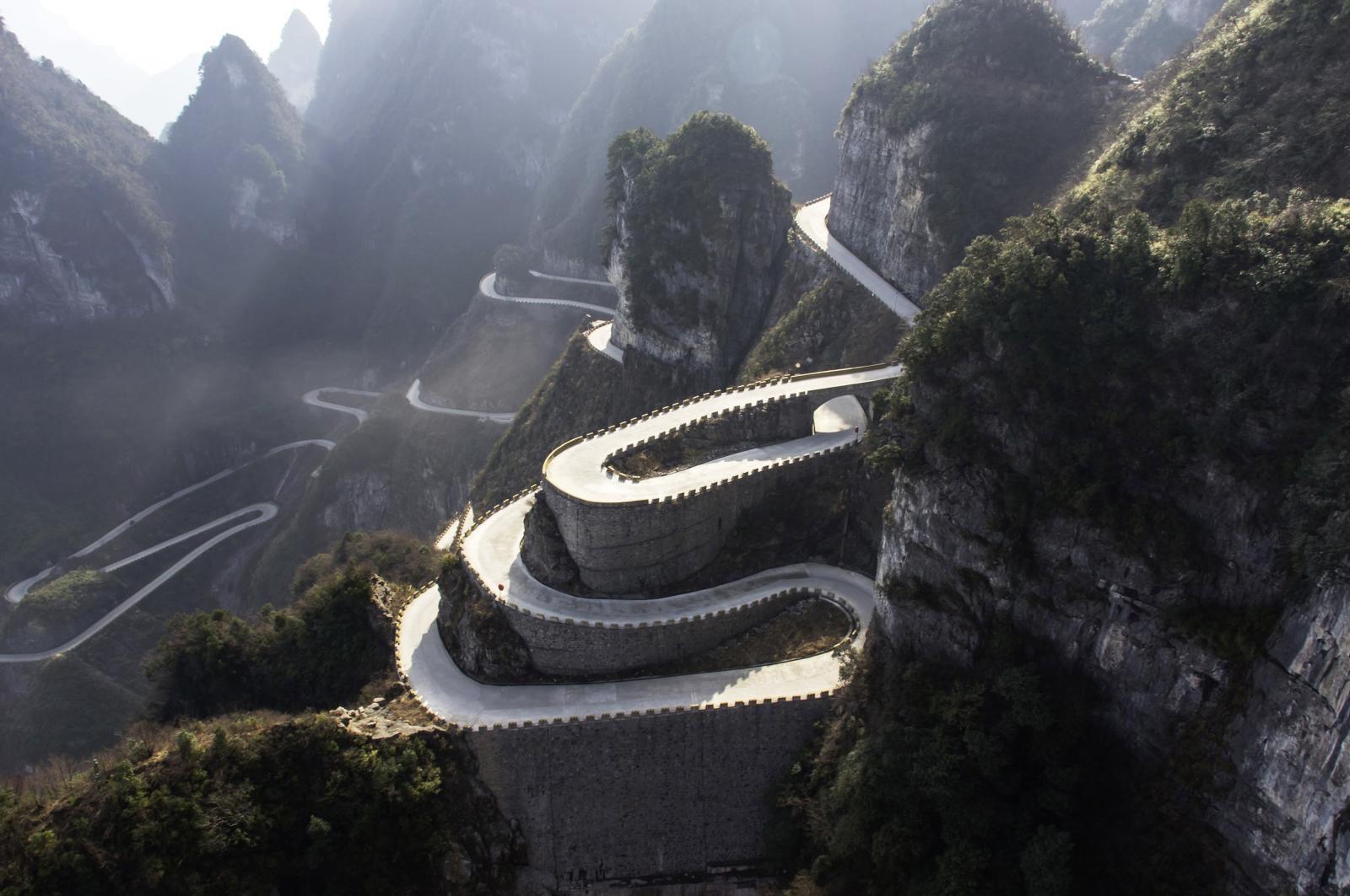 Tienman Shan Big Gate Road
