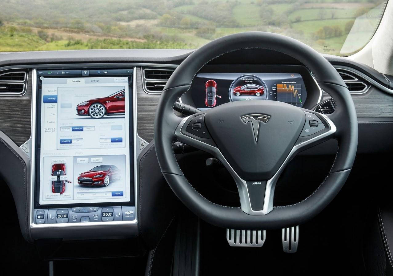 Tesla Model S suspensión ajuste