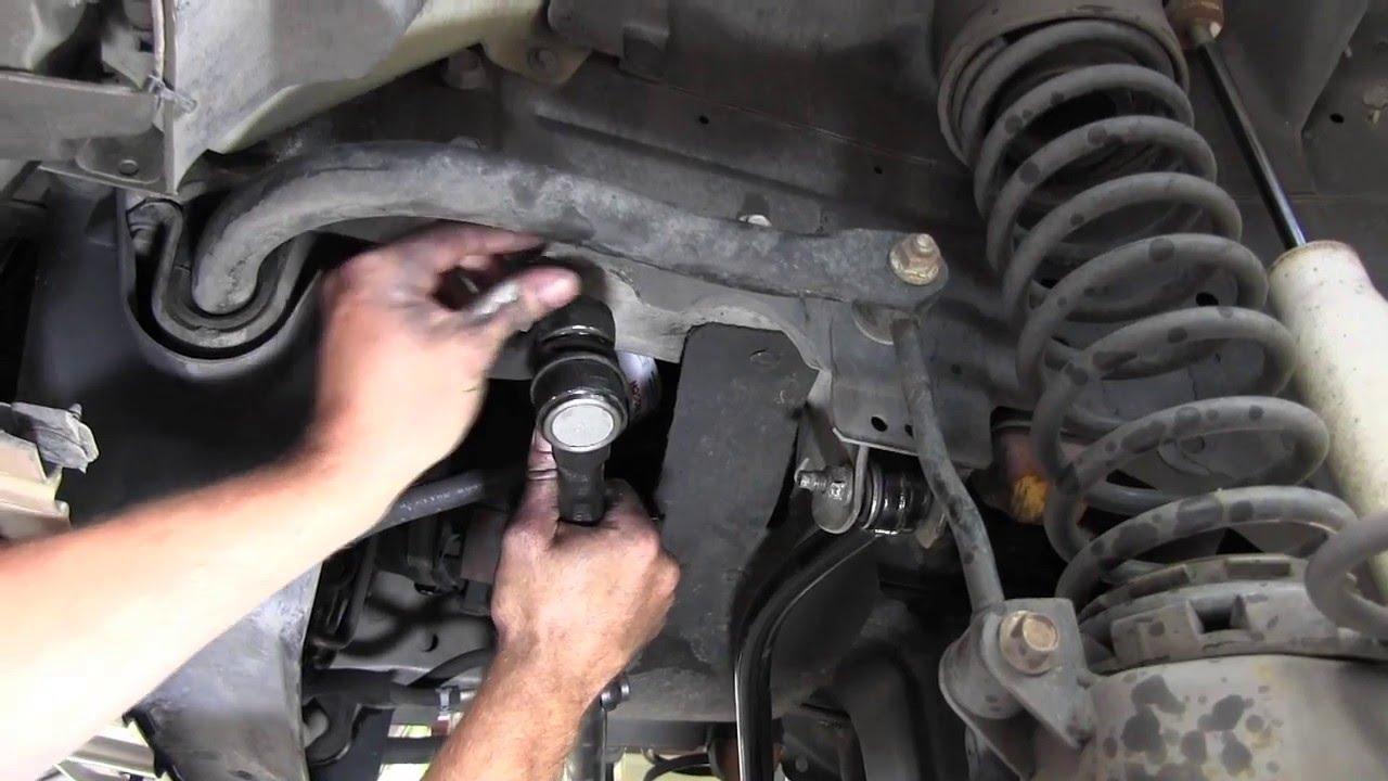 bamboleo del eje trasero en la Jeep Wrangler