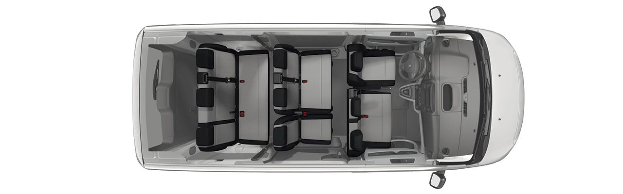 La Peugeot Expert 2020 precio en México tiene capacidad para 9 personas si optamos por la versión Pasajeros