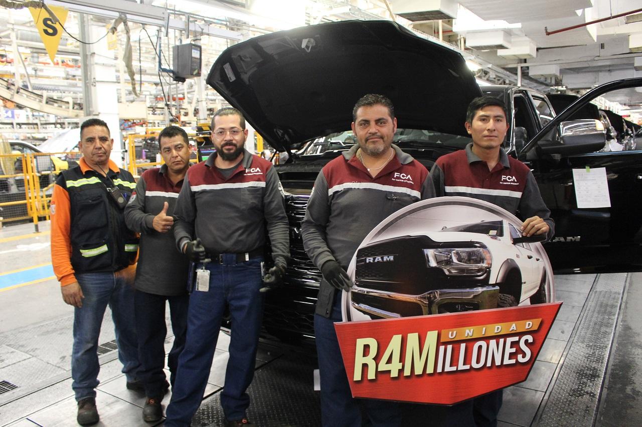 Ram produce su unidad 4 millones en la planta de Saltillo