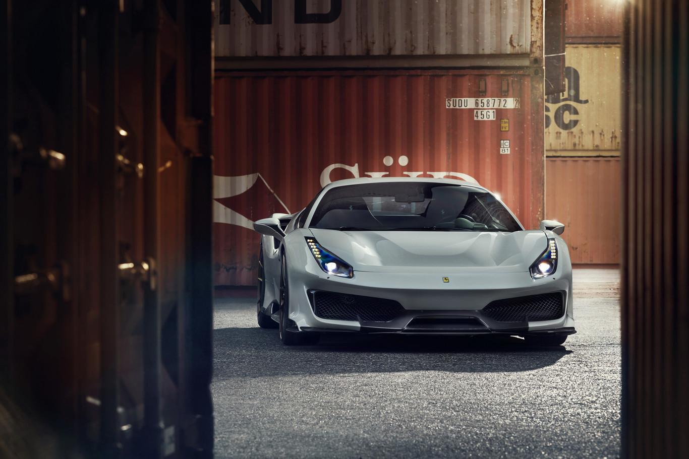 El Ferrari 488 Pista vitaminado por Novitec tiene un diseño más aerodinámico y un desempeño aún más radical