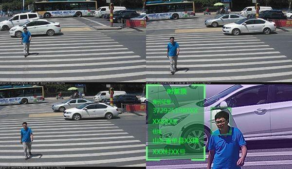En China ya existen semáforos inteligentes que detectan a quienes no cruzan debidamente