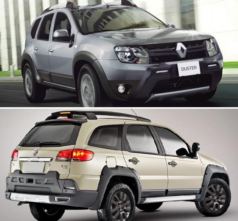Renault Duster Intens Electrohidráulica vs FIAT Palio Adventure AT 2019